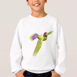 Pflaume ging Parakeet voran Sweatshirt