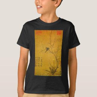 Pflaume und Vögel durch Kaiser Huizong T-Shirt