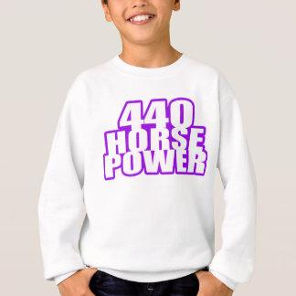Pflaume verrückte 440 mopar sweatshirt