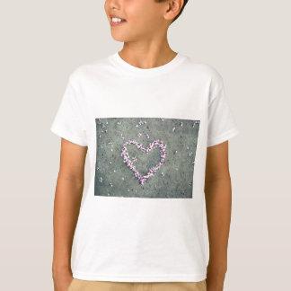 Pflaumen-Blüten-Herz T-Shirt