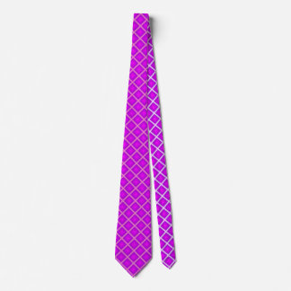 Pflaumen-lila Diamant geometrisch Individuelle Krawatte