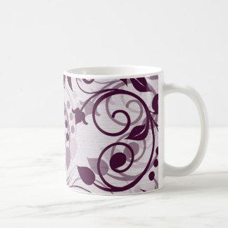Pflaumen-Wirbles Blumen Teehaferl