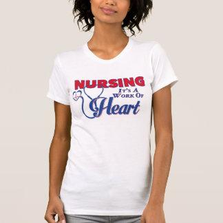 Pflege - es ist eine Arbeit des Herzens T-Shirt