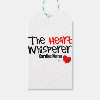 Pflegen Sie den Herz Whisperer Geschenkanhänger