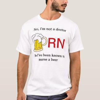 Pflegen Sie ein Bier T-Shirt