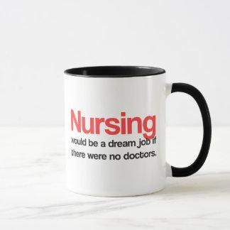 Pflegenzitat-Kaffee-Tasse Tasse
