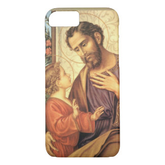 Pflegevater Jesus St. St Joseph traditionell iPhone 8/7 Hülle
