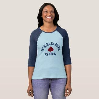 """Pflüger-Mädchen"" Narrowboating T-Shirt"