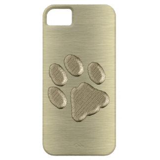 Pfötchen gold *-* schutzhülle fürs iPhone 5