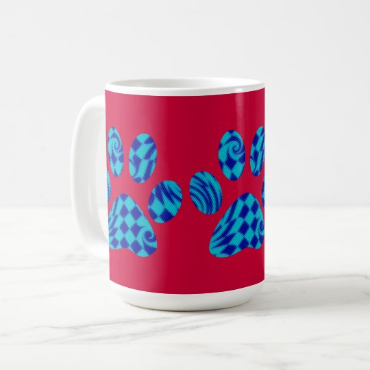 Pfotenabdruck Kaffeetasse
