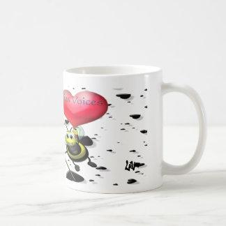 PFV Biene romantisch Kaffeetasse