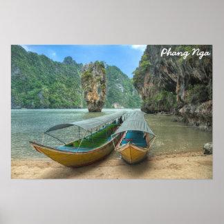 Phangnga, Thailand Poster