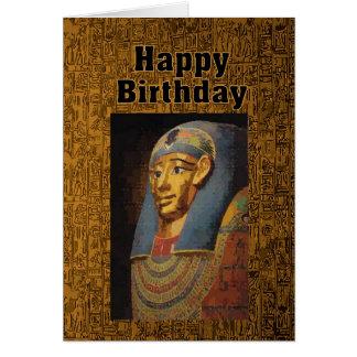 Pharao-alles Gute zum Geburtstag Karte