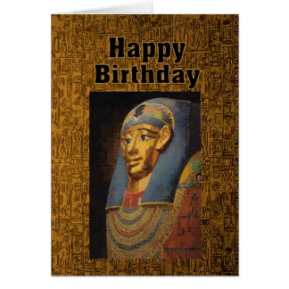 Pharao-alles- Gute zum GeburtstagSpaß Karte