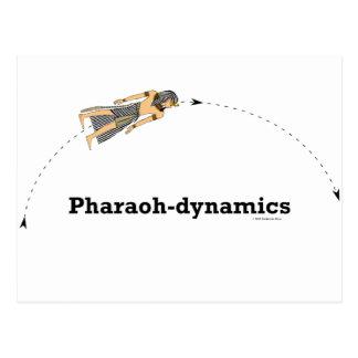 Pharao-Dynamik Postkarte