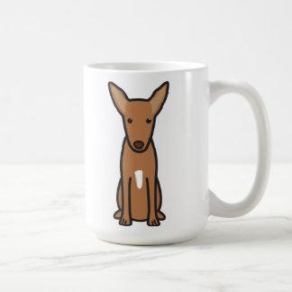 Pharao-Jagdhund-HundeCartoon Kaffeetasse