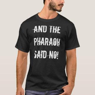 Pharao-Schwarzes T-Shirt