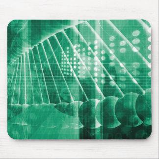 Pharmazeutische Forschungs-Daten als Mousepad