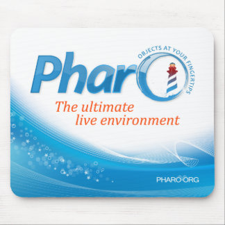 "Pharo Mousepad ""blaue Welle """