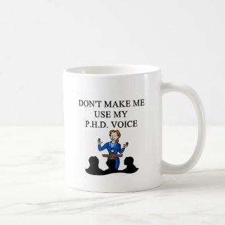Phd-Stimme Kaffeetasse