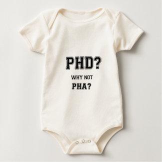 PhD? Warum nicht PhA? Hohe Erwartungen Baby Strampler