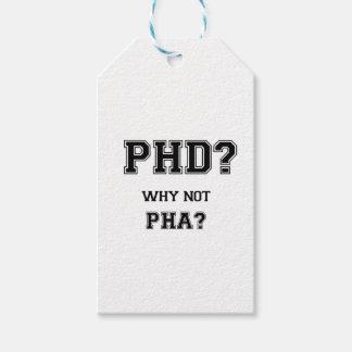 PhD? Warum nicht PhA? PhD-Abschlussgeschenk Geschenkanhänger