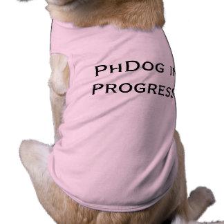 PhDog laufendes Hundet-shirt Top