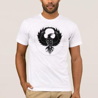 pheonix mit einem sehr guten Sprichwort auf der T-Shirt