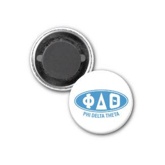 Phi-Deltatheta | Vintag Runder Magnet 2,5 Cm