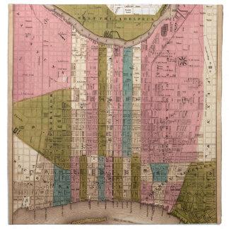 Philadelphia 1838 serviette