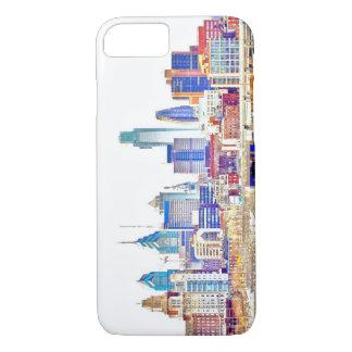 Philadelphia-Farbskizze iPhone 7 Fall iPhone 8/7 Hülle
