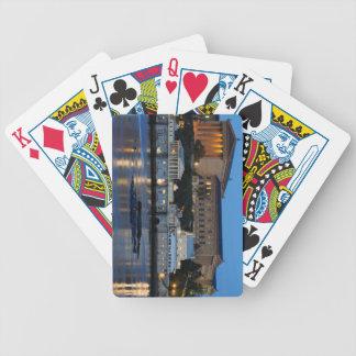 Philadelphia-Kunst-Museum und Fairmount Wasserwerk Bicycle Spielkarten