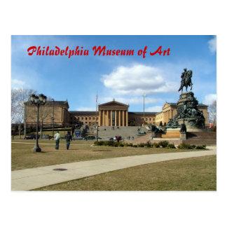 Philadelphia-Kunstmuseum Postkarte