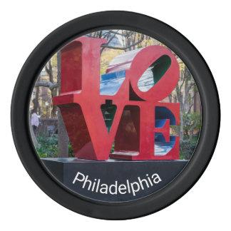 Philadelphia-LIEBE Poker-Chips Pokerchips