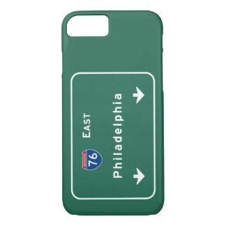 Philadelphia-PA-Autobahn-Autobahn-Straße: iPhone 8/7 Hülle