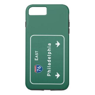 Philadelphia-PA-Autobahn-Autobahn-Straße: iPhone 8 Plus/7 Plus Hülle