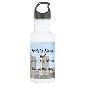 Philadelphia-PA-Skyline-Hochzeits-Versorgungen Trinkflasche
