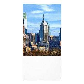 Philadelphia-PA-Skyline II Photo Karten Vorlage