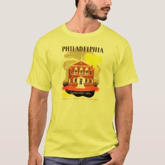 Philadelphia-PA. Tischler Hall, WPA T - Shirt 1936