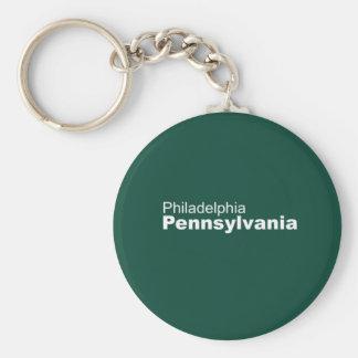 Philadelphia, Pennsylvania Keychain Schlüsselanhänger