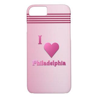 Philadelphia -- Pink iPhone 8/7 Hülle