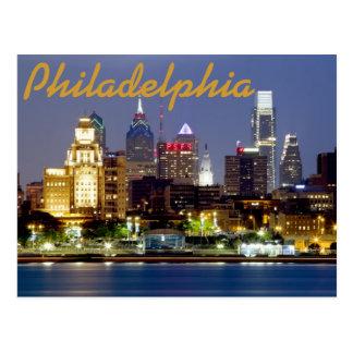Philadelphia-Postkarte Postkarte