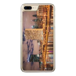 Philadelphia-Skyline Carved iPhone 8 Plus/7 Plus Hülle