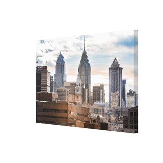 Philadelphia-Skyline in der Tageszeit Leinwanddruck