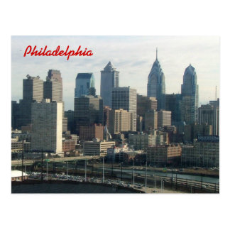 Philadelphia-Skyline Postkarten