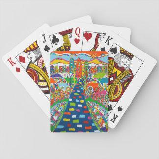 Philadelphia-Skyline-Spielkarten Spielkarten