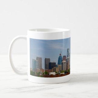 Philadelphia-Skyline von Südphiladelphia Kaffeetasse