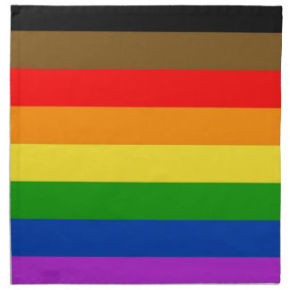 Philadelphia-Stolzflagge Stoffserviette