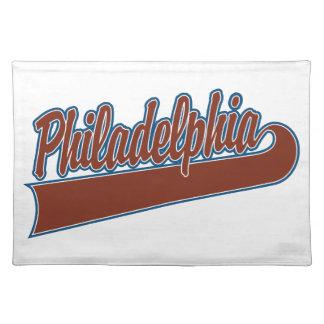 Philadelphia Tischset