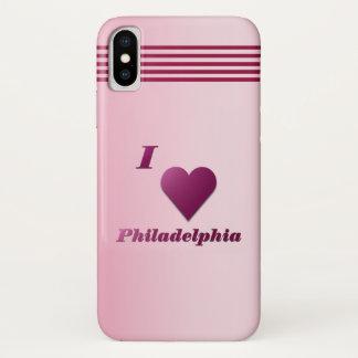 Philadelphia -- Wein iPhone X Hülle